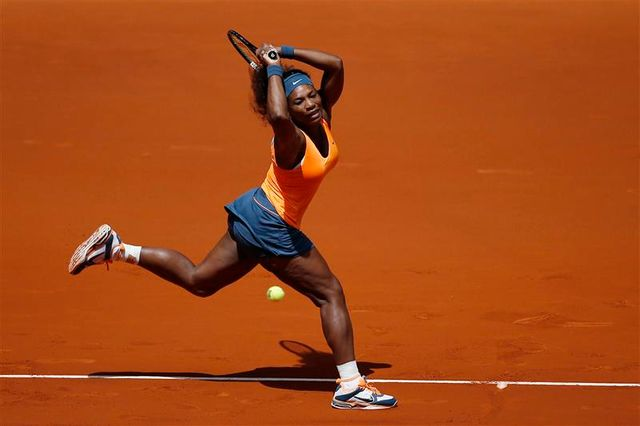 serena williams facile au 3e tour à madrid