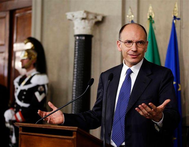 enrico letta, président du conseil italien désigné