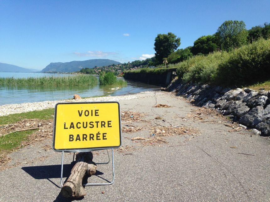 Les voies sur berge sont fermées jusqu'à nouvel ordre