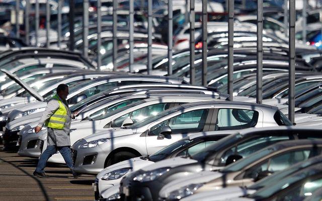 recul des immatriculations de voitures neuves en juillet