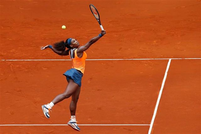 serena williams facile au 2e tour à madrid