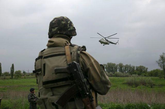 offensive de l'armée ukrainienne à slaviansk