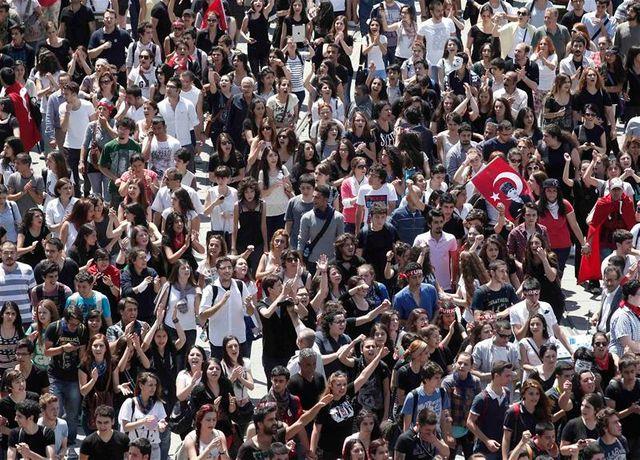 tensions persistantes en turquie