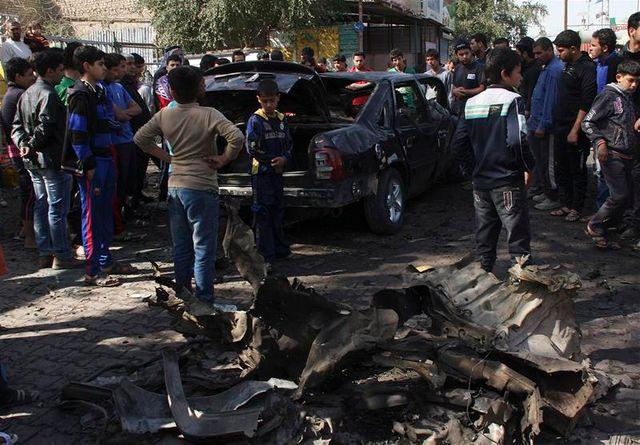 série d'attentats meurtriers à bagdad
