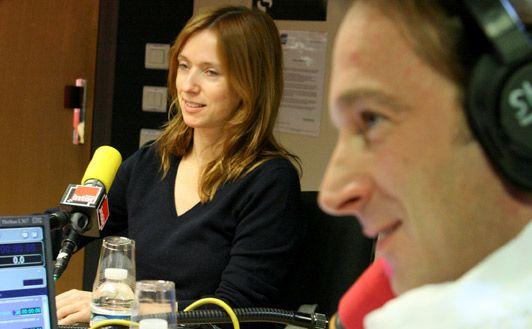 Léa Drucker et François Busnel
