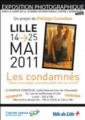 Expo « Les Condamnés. Dans mon pays ma sexualité est un crime » de Philippe CASTETBON à Lille
