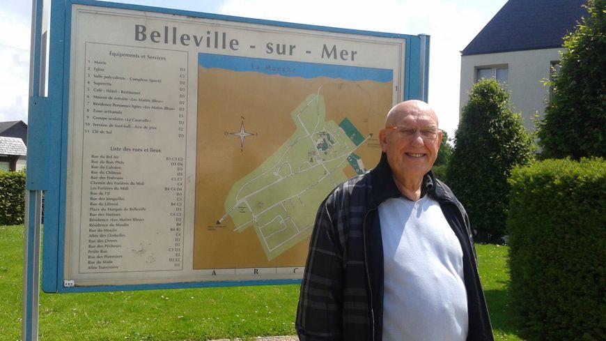 Le maire de Belleville-sur-Mer, Daniel Joffroy