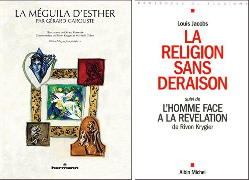 Livres du Rabbin Rivone Krygier