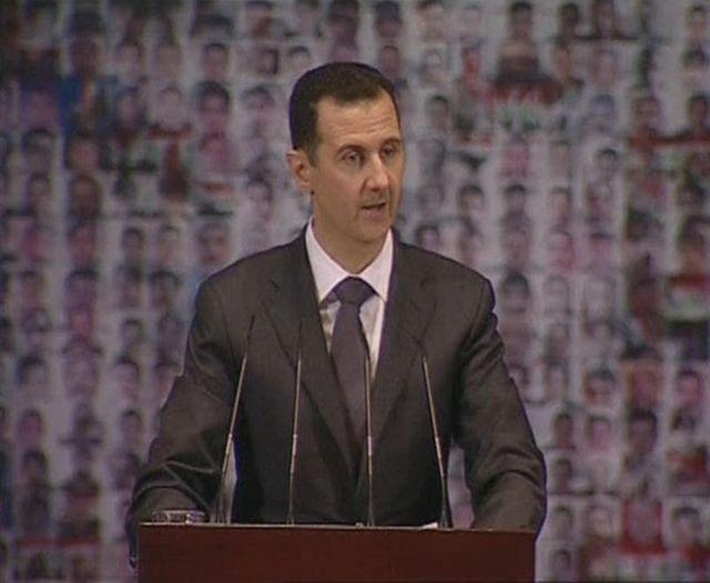 bachar al assad lance un appel à la mobilisation