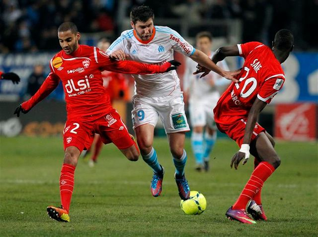 marseille s'incline devant nancy