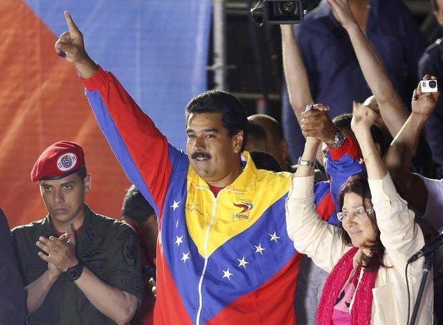 nicolas maduro officiellement proclamé vainqueur au venezuela