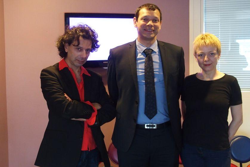 Eric Sadin, Olivier Ami et Catherine Dufour