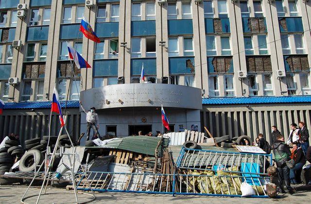 les séparatistes se renforcent dans l'est de l'ukraine