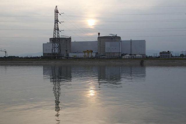 la centrale nucléaire de fessenheim à l'arrêt après un incident