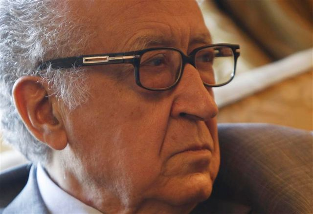 """lakhdar brahimi décrit une situation syrienne """"de plus en plus compliquée"""""""