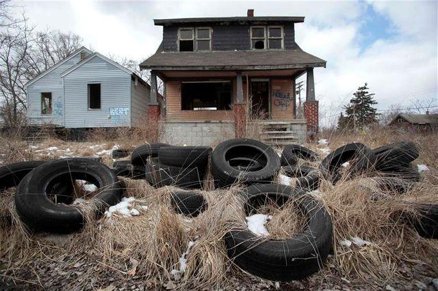 la ville de detroit, dans le michigan, se déclare en faillite