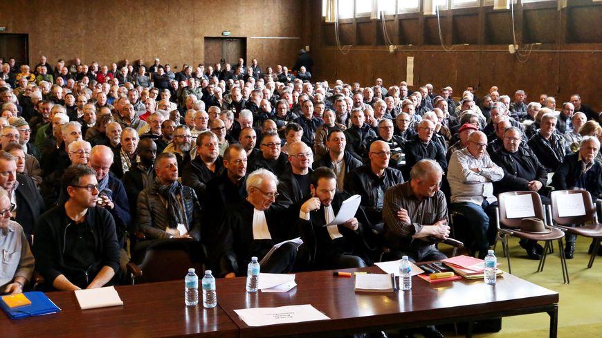 Audicence des mineurs de Moselle pour le préjudice d'anxiété à Forbach les 23 et 24 mars 2016