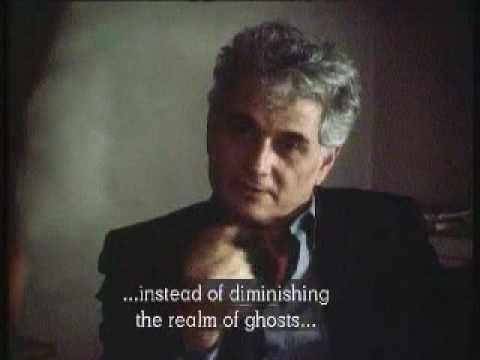 Jacques Derrida en 1983 dans le film de Ken Mc Mullen