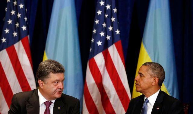 barack obama assure petro porochenko de son soutien