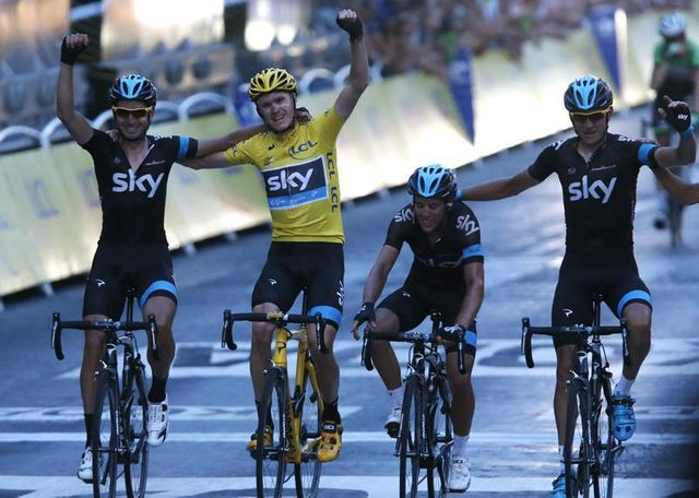 sacre de christopher froome pour le tour de france