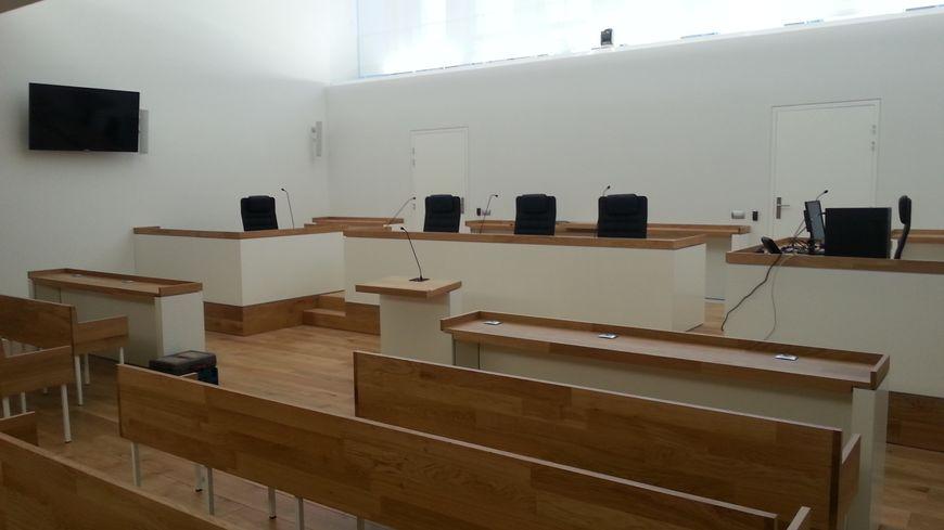 Ambiance épurée et apaisante dans les nouveaux tribunaux de Limoges