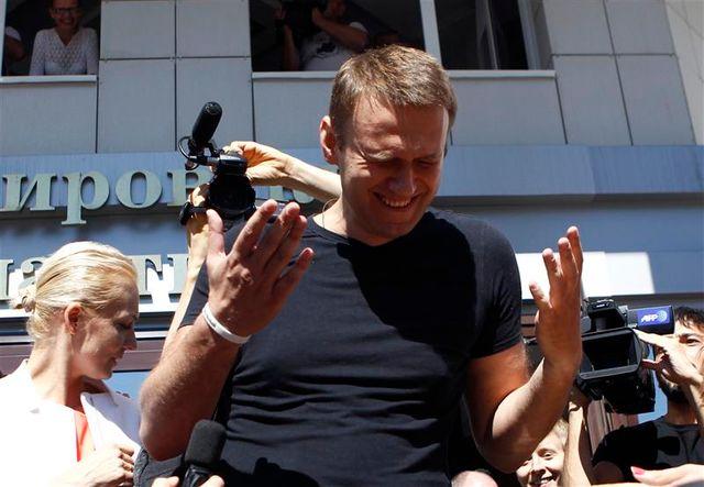 l'opposant russe navalny libéré provisoirement
