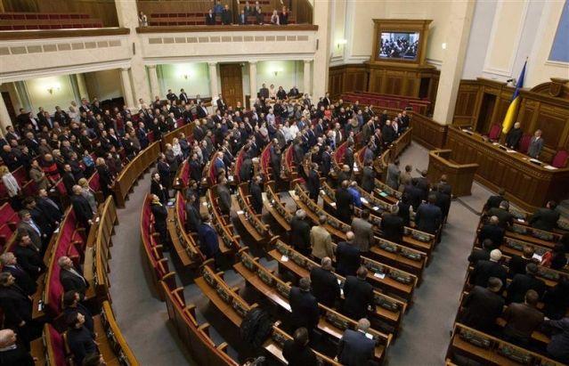 le pouvoir bascule en ukraine
