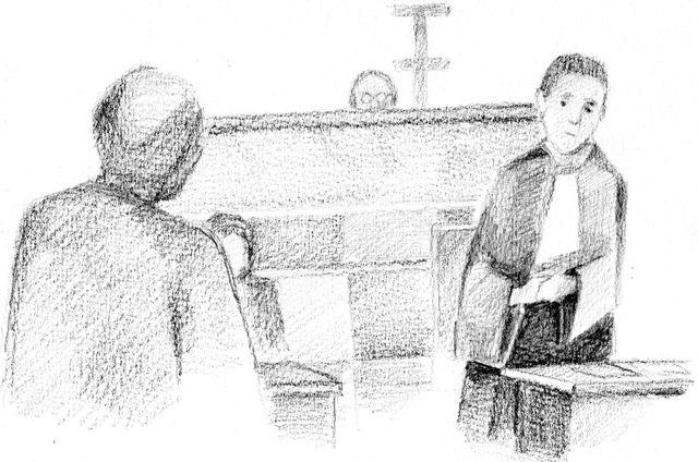 Me Fabienne Roy-Nansion, avocate de Fabienne Kabou,  à l'audience