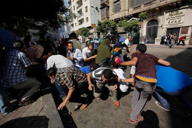 nouvelle journée d'affrontements sanglant en égypte