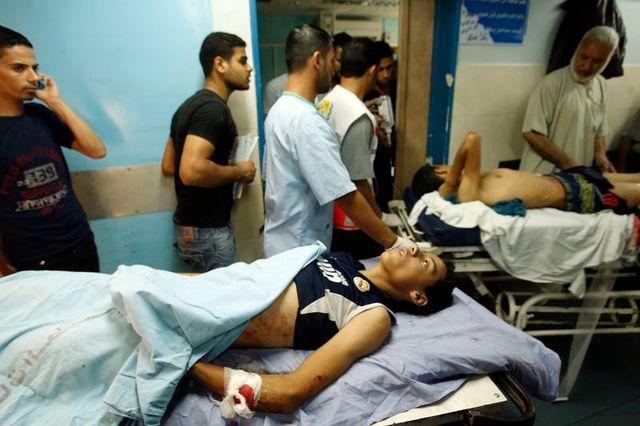 israël bombarde la bande de gaza