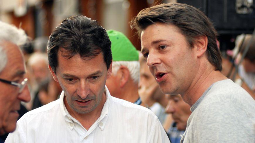 Laurent Daulny aux côtés de François Baroin, soutien de Nicolas Sarkozy