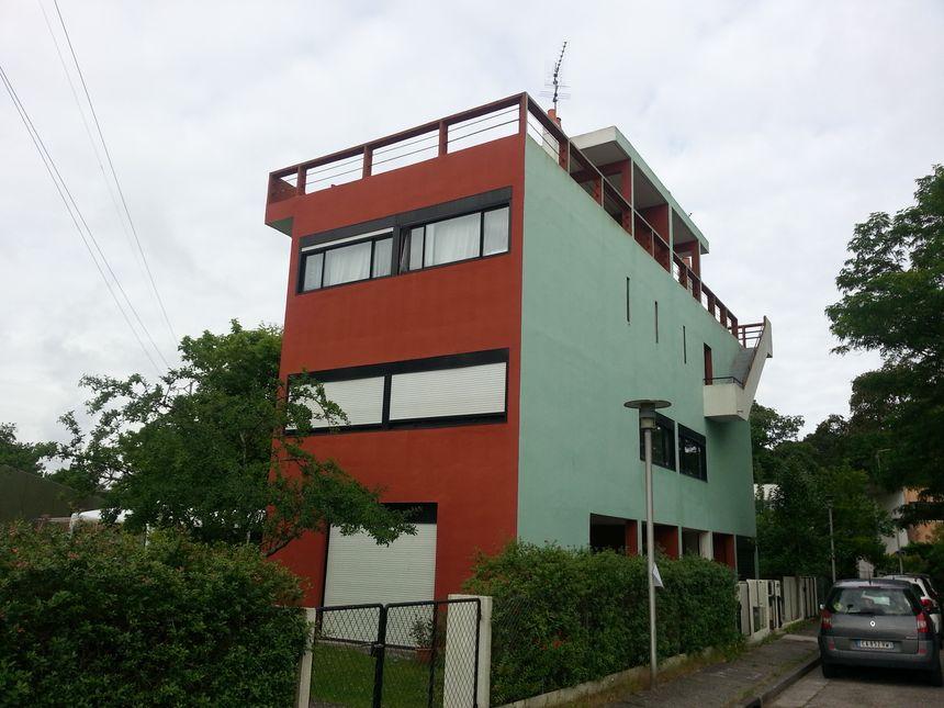 Fenêtres horizontales et terrasses de toit