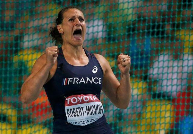 la française mélina robert-michon vice-championne du monde du disque