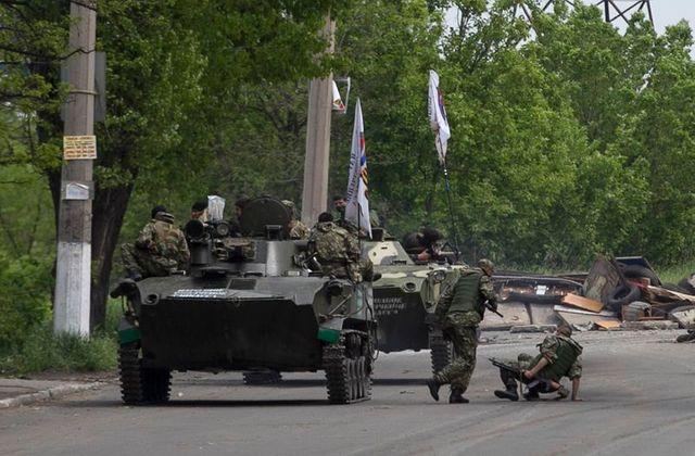 combats dans l'est de l'ukraine