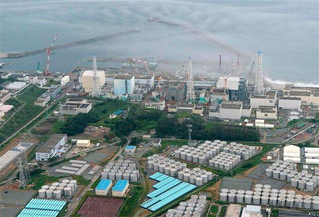 radioactivité en forte hausse dans un réservoir de fukushima