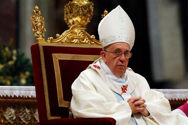 le pape françois lance un appel à la paix