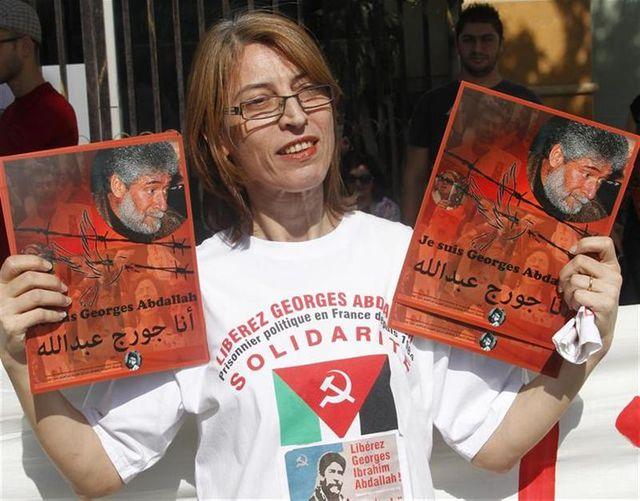 libération sous condition d'expulsion pour l'activiste libanais georges ibrahim abdallah