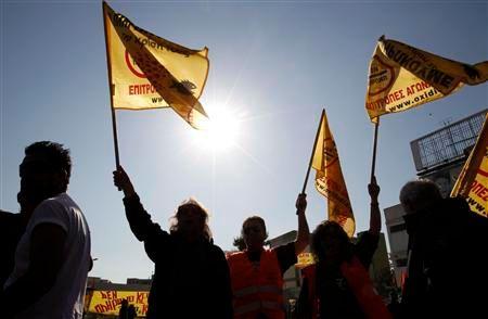 nouvelles manifestations en grèce contre les mesures d'austérité