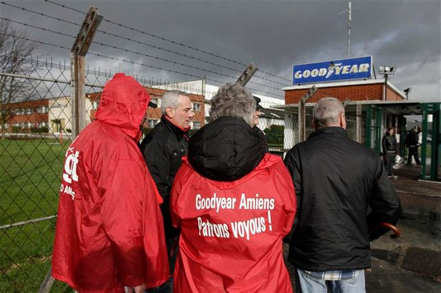 la cgt se dit prête à valider un projet de reprise de l'usine goodyear d'amiens-nord