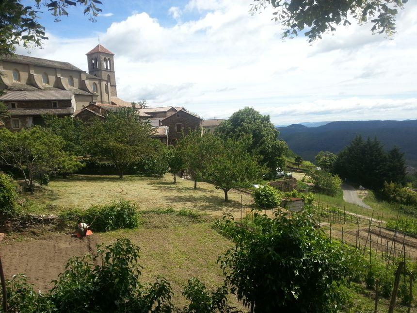 Le village de Malbosc dans les Cévennes Ardéchoises
