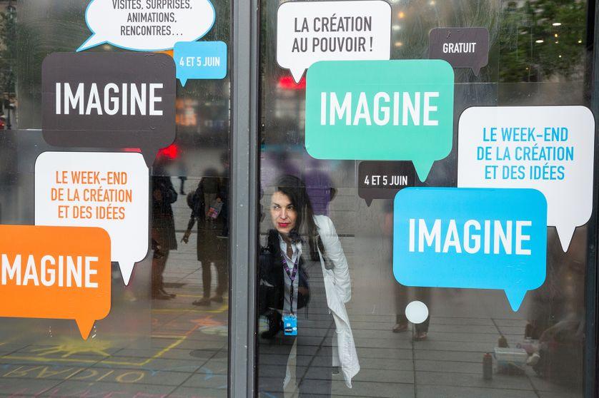 Façade du Centre Pompidou les 4 et 5 juin