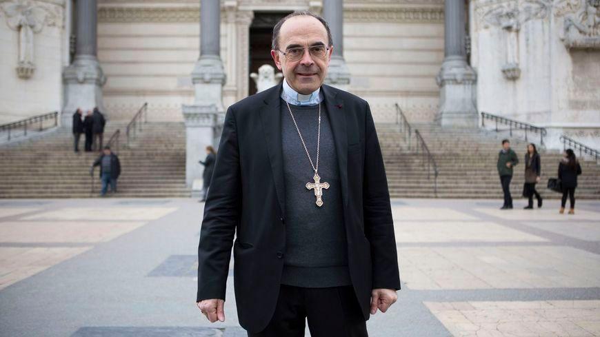 Philippe Barbarin, archevêque de Lyon depuis 2002