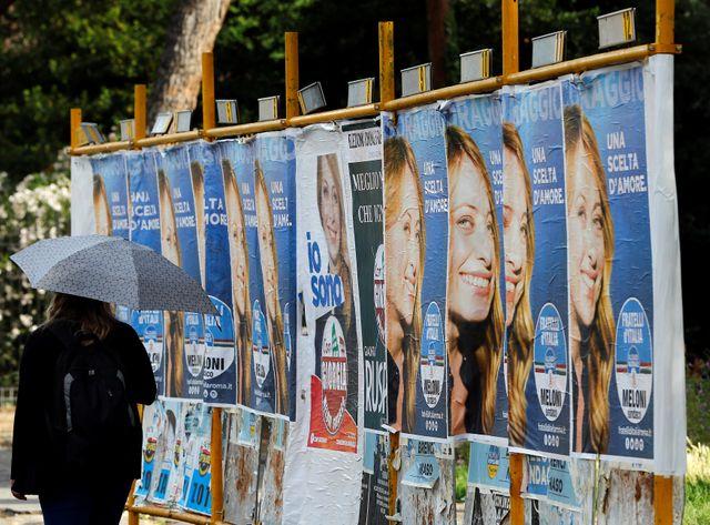 A Rome, deux populistes pour les élections municipales