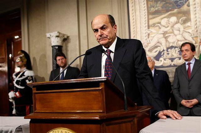 pier luigi bersani échoue à former un gouvernement en italie
