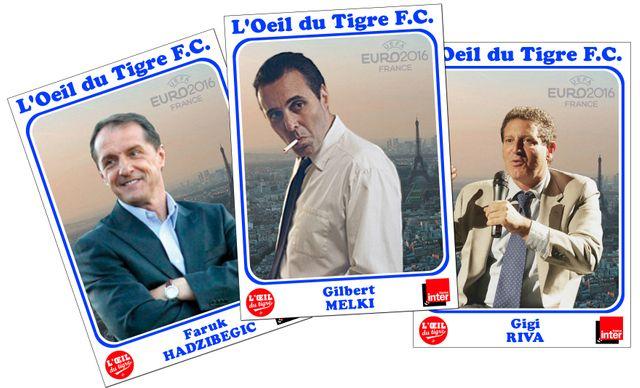Faruk Hadzibegic, Gilbert Melki et Gigi Riva