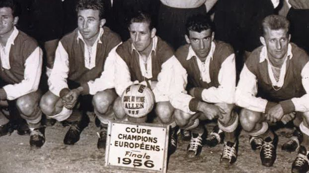 Il y a 60 ans le stade de reims a failli remporter la - Football coupe d europe des clubs champions ...