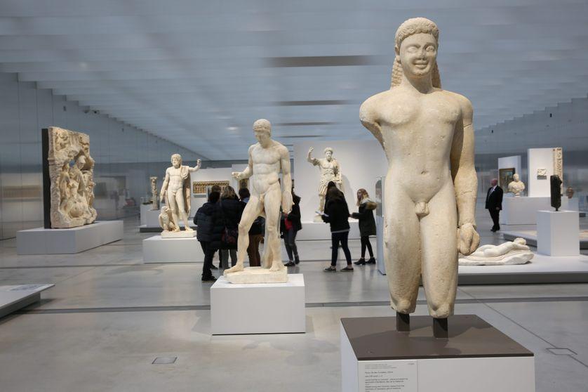 Galerie du temps, Louvre Lens