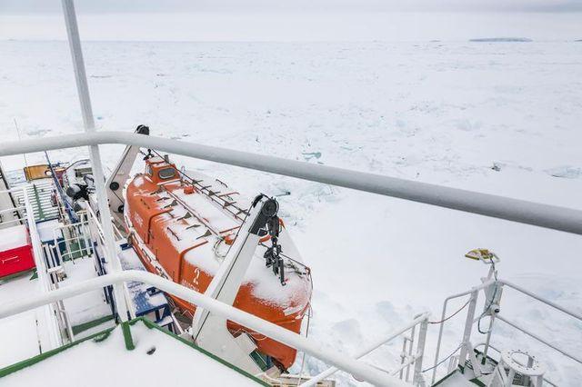 échec du sauvetage d'un bateau russe en antarctique