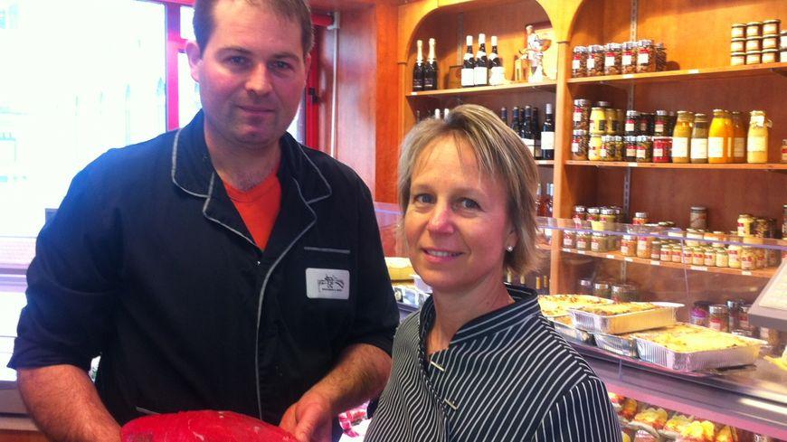 Christophe Duret et sa femme, Régine
