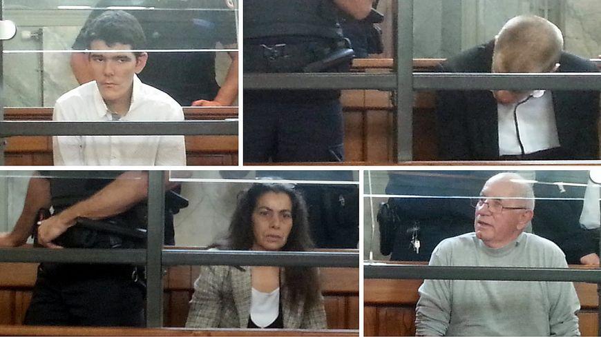 Affaire Alexandre Junca : les quatre accusés dans le box